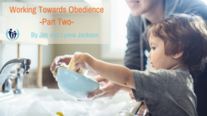 Working Towards Obedience 2