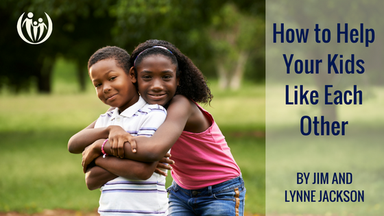 How to Help Your Kids Like Each Other