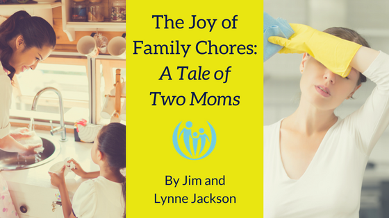 The Joy of Family Chores A Tale of Two Moms