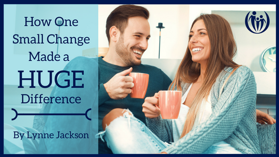 How One Small Change Made a HUGE Difference