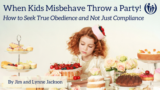 When Kids Misbehave Are You Seeking Obedience or Compliance