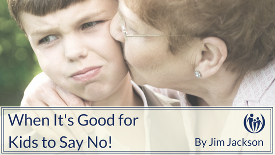 When Its Good for Kids to Say No