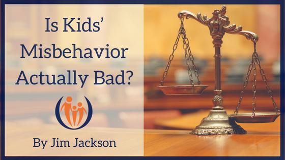 Is Kids Misbehavior Actually Bad