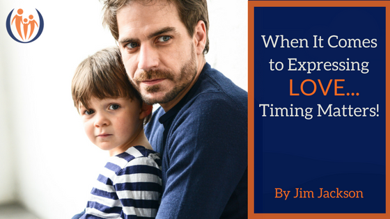 When It Comes to Expressing Love Timing Matters