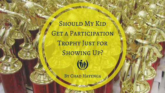 Trophy for Just Showing Up