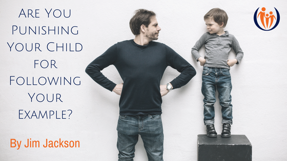 Are You Punishing Your Child for Following Your Example