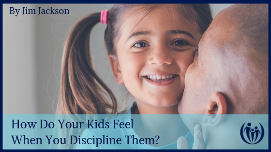 How do your kids feel when you discipline them
