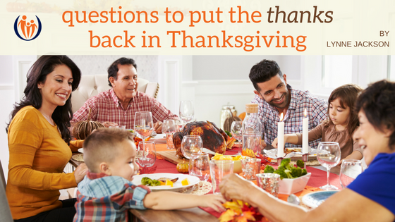 Put the Thanks in Thanksgiving