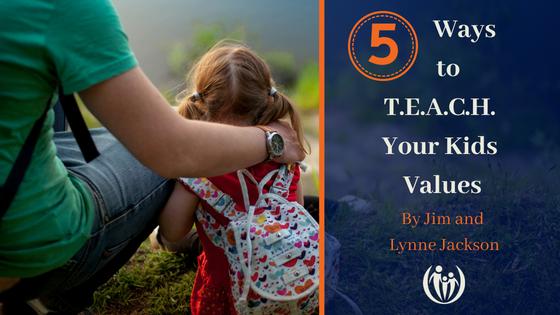 Teach children values