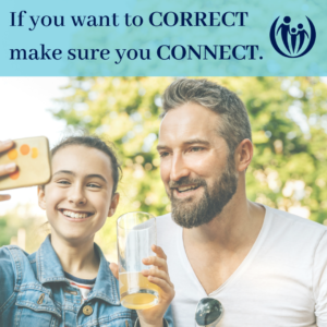 Connect and correct