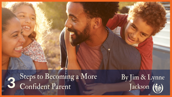 3 Steps to Becoming a Peaceful Confident Parent 1
