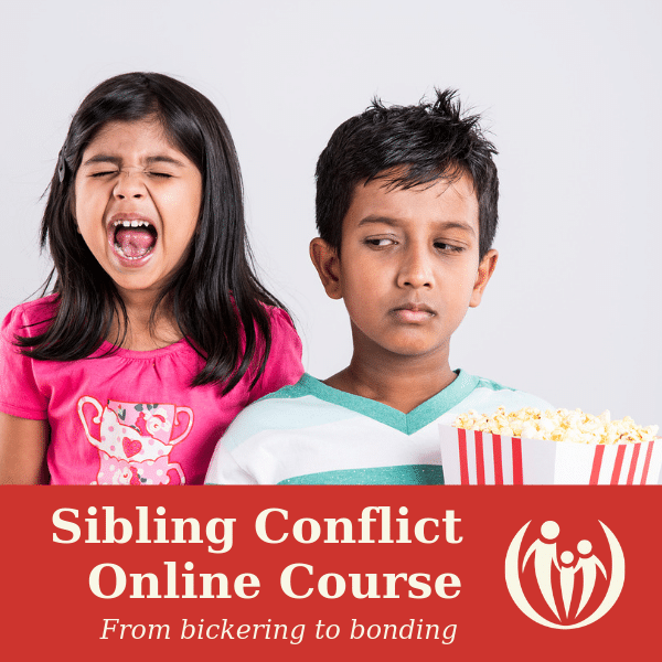 Sibling Conflict Online Course [available now for $28]