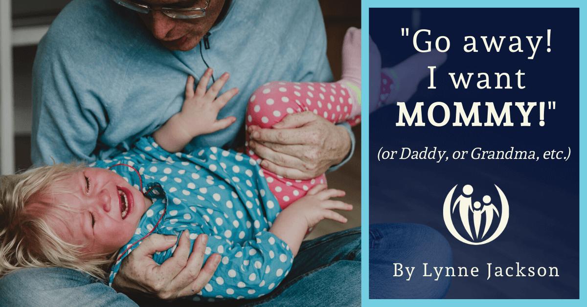 girl picks favorite caregiver as mommy