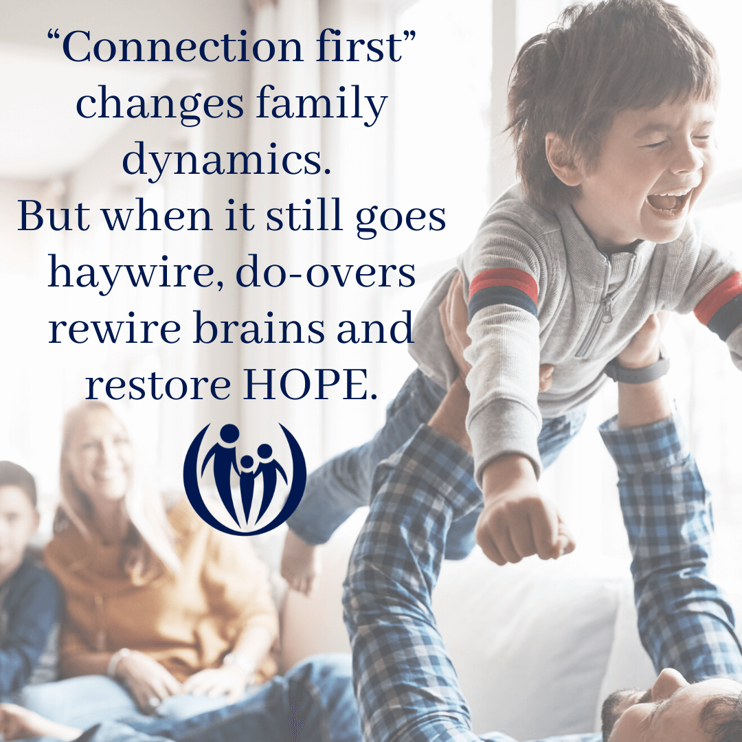 connection first restores hope