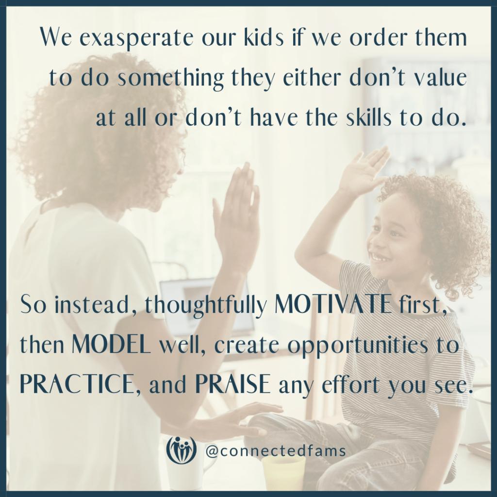 change your child's behavior
