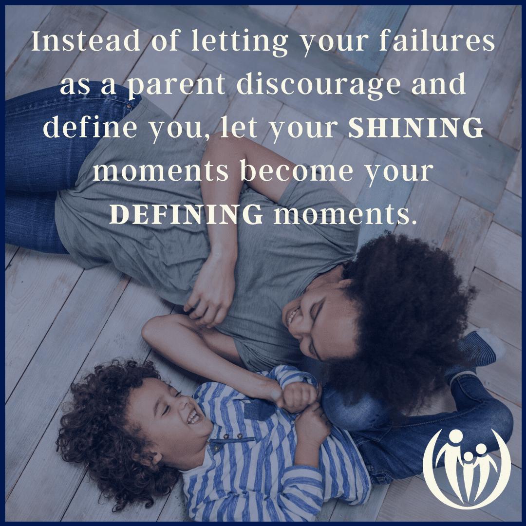 am I a bad parent? Parenting out of guilt