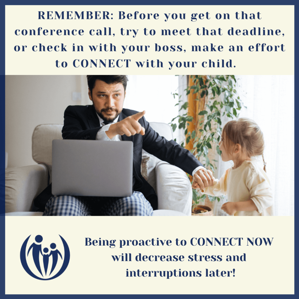 What to do when kids interrupt your important conference calls