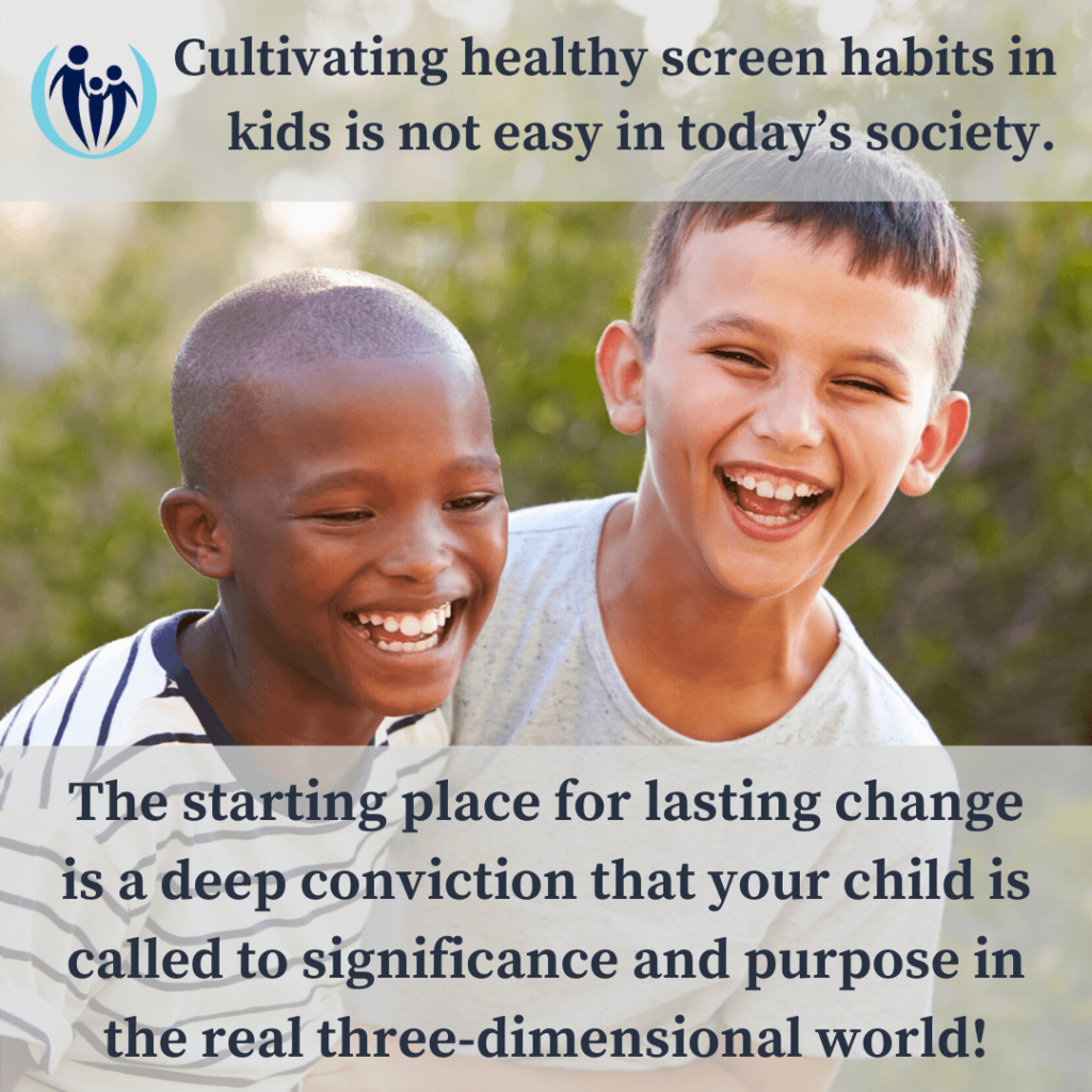 How to Cultivate Healthy Screen Habits