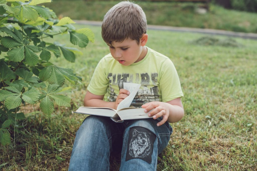 Child practices empathy with fiction