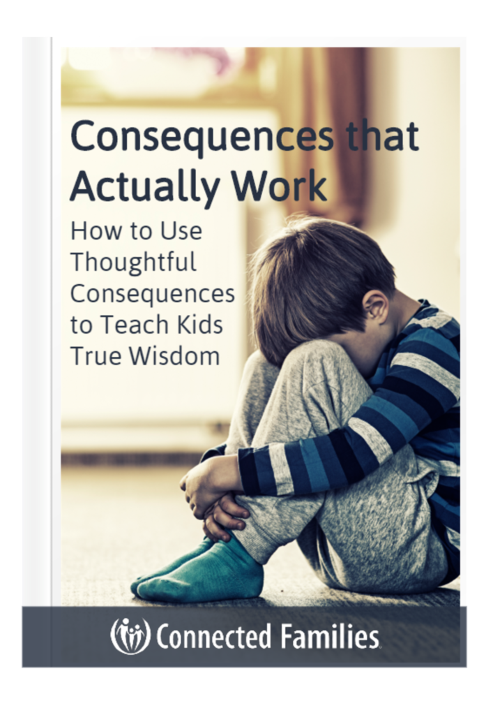 consequences for kids that actually work