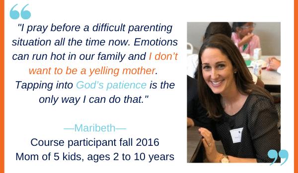 parenting patience e-course