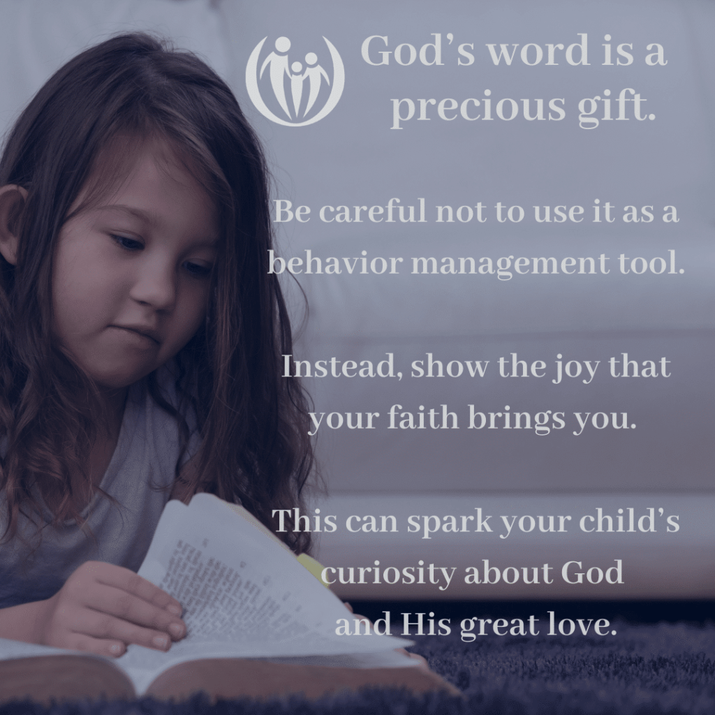 teach your child about God
