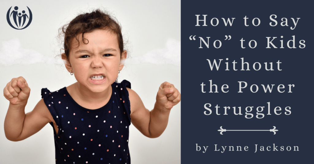 How to Say No without POwer struggles