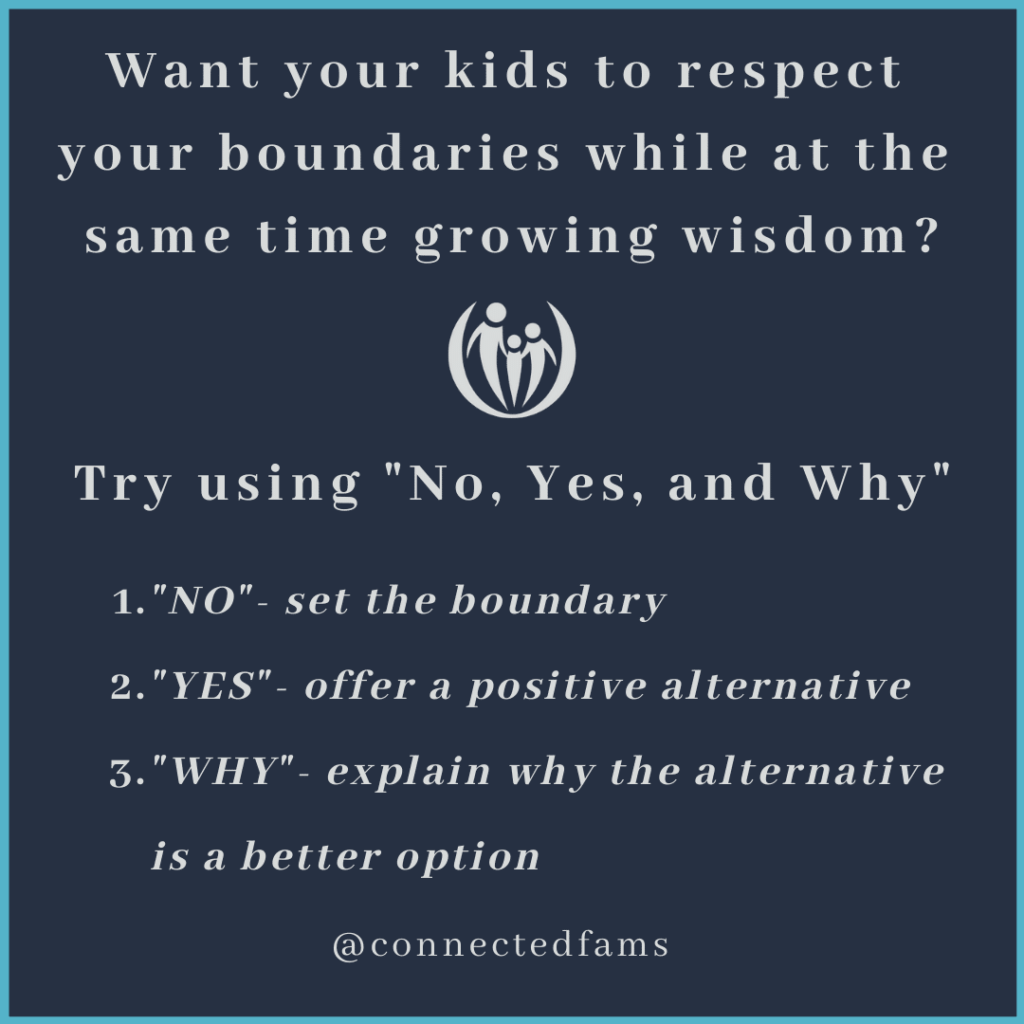 How to say no to kids