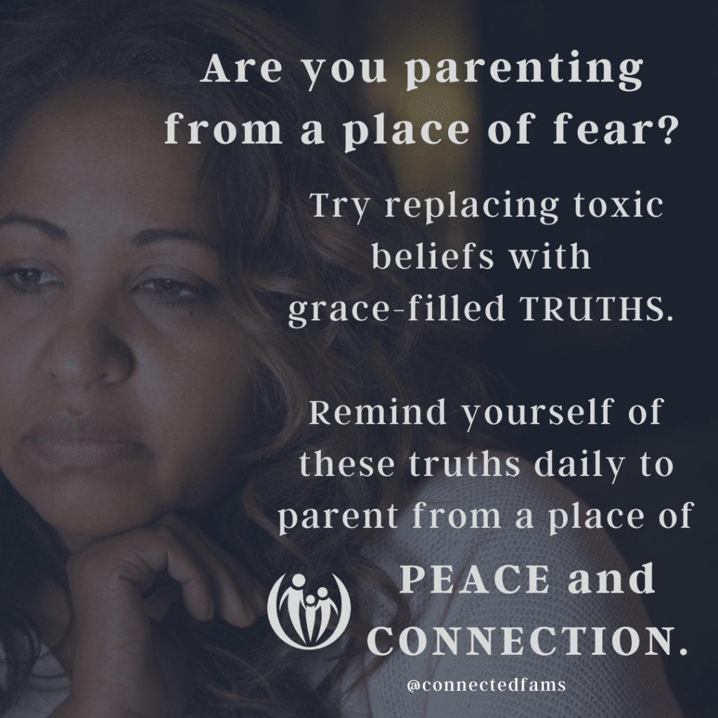 parenting from a place of fear