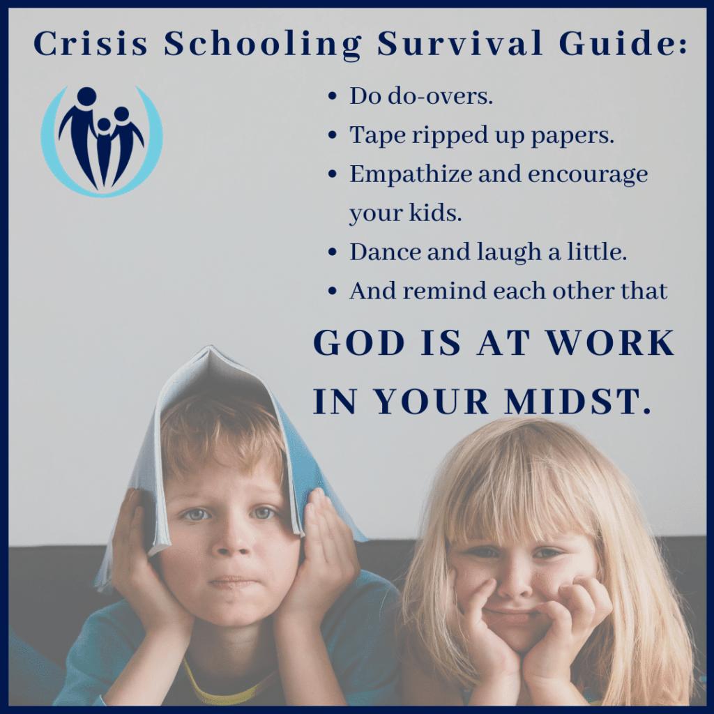 child refusing schoolwork