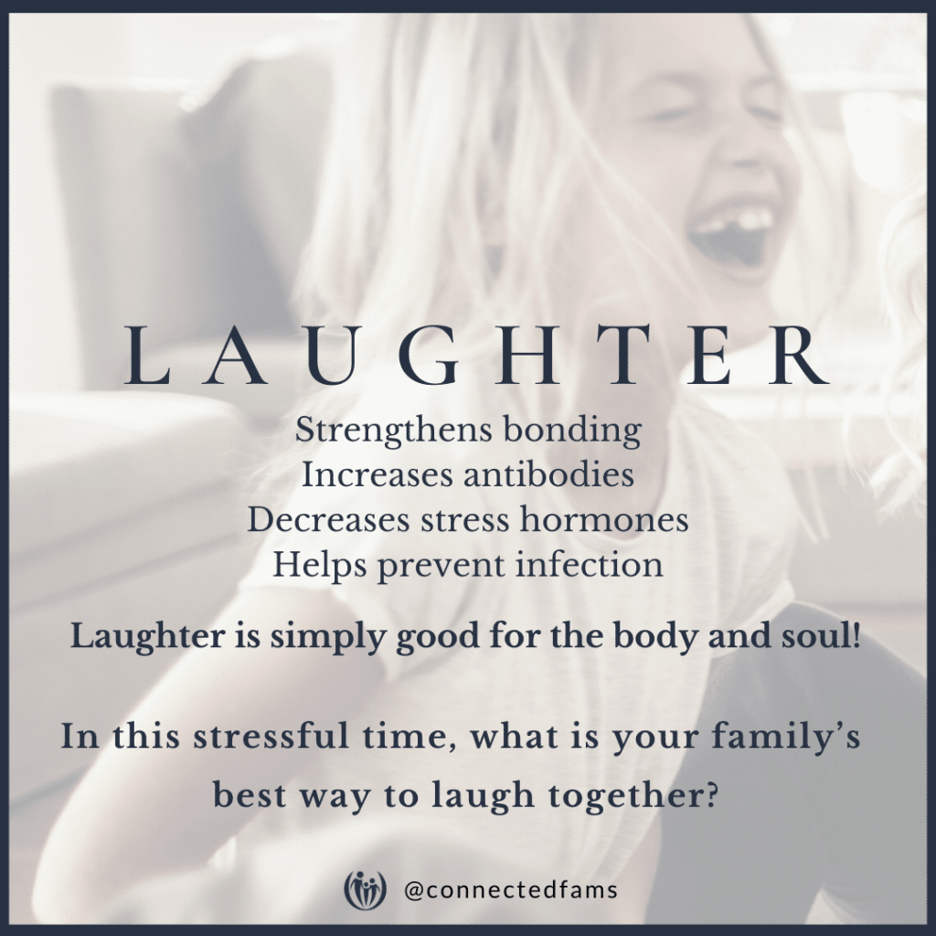 laugh with your kids