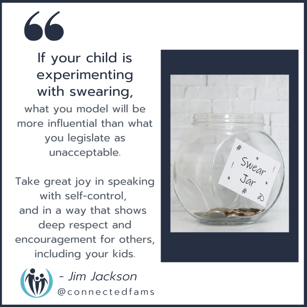 punish a child for swearing