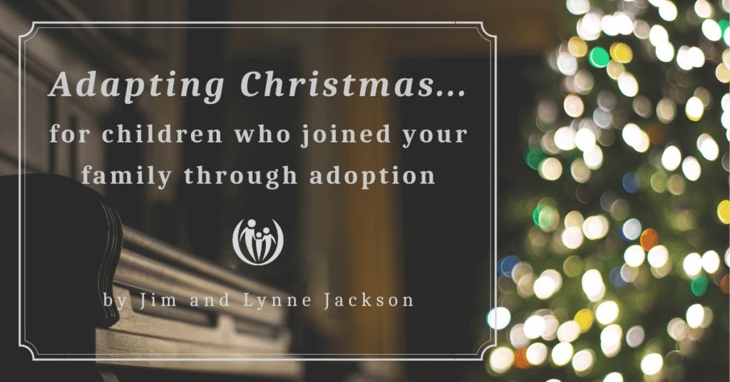 adapting Christmas family adoption