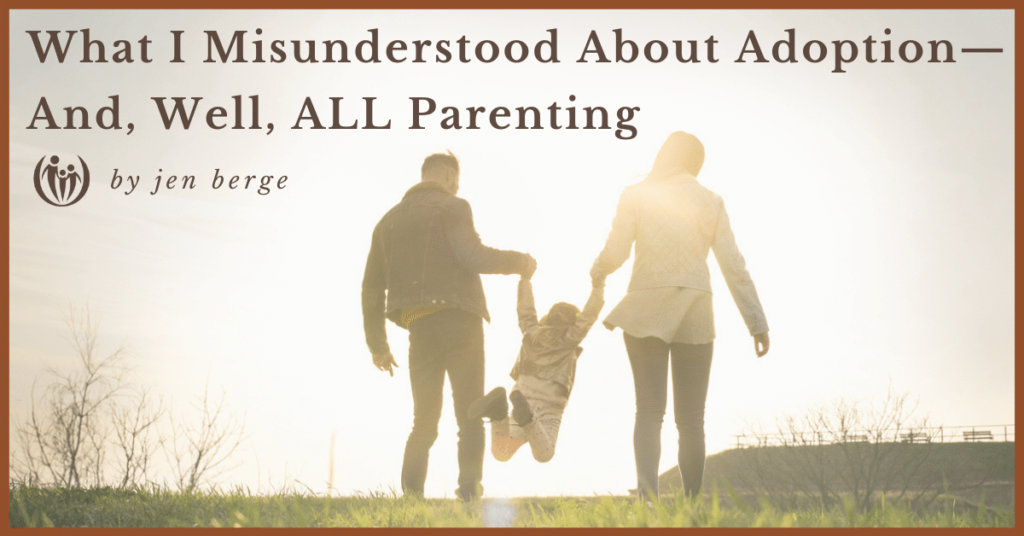 Misunderstood about adoption