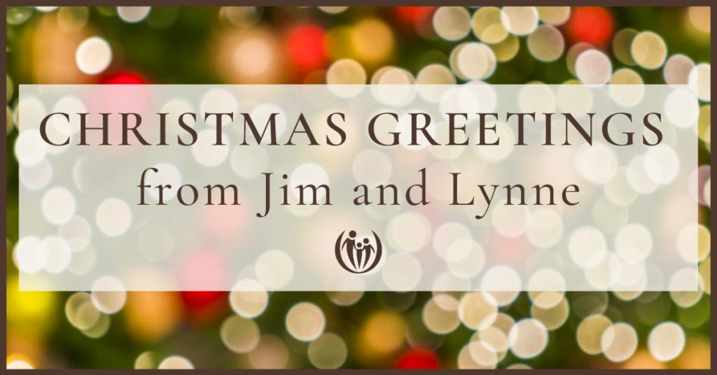 Christmas Greetings Jim Lynne 2020