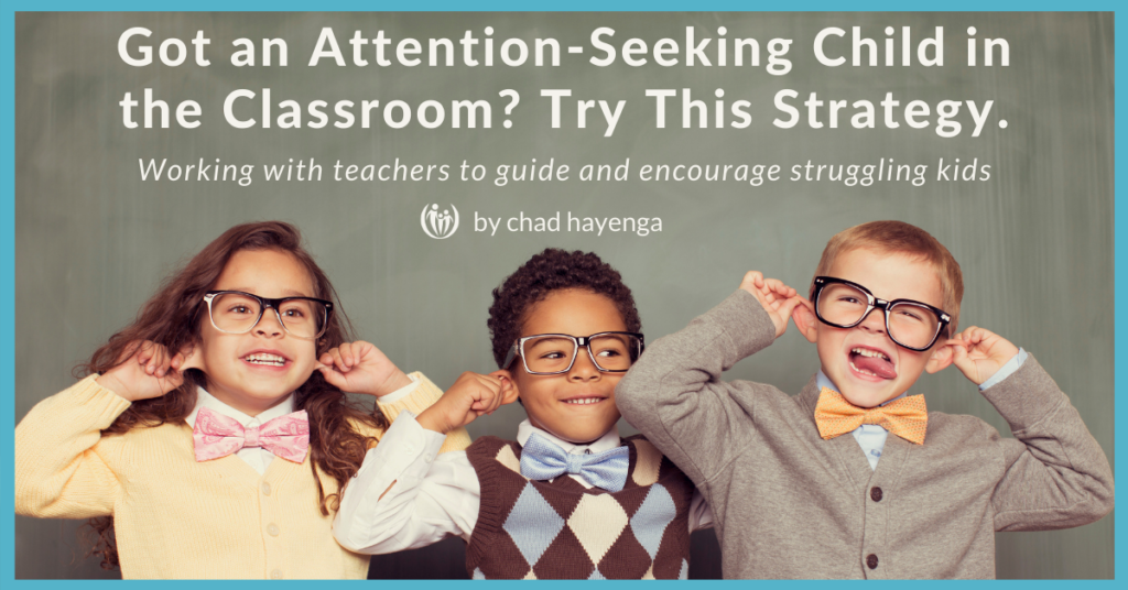 attention-seeking child in the classroom