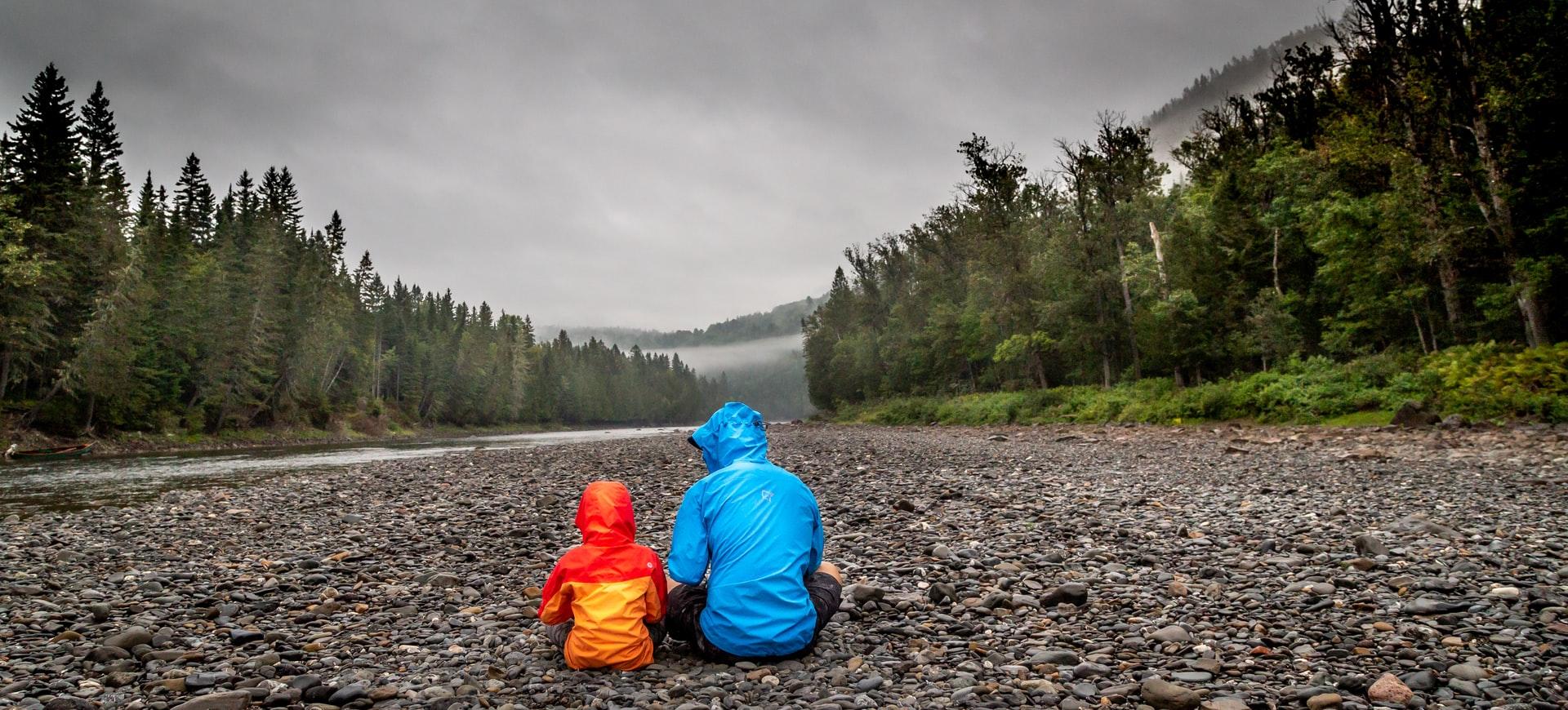 father mentoring son