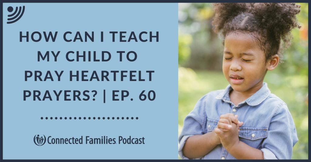 teach child to pray