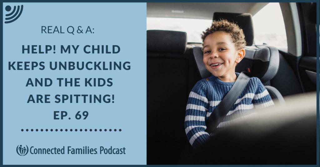 child keep unbuckling