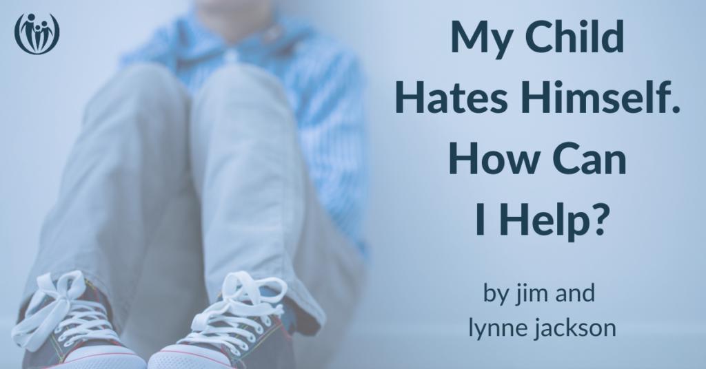 child hates himself