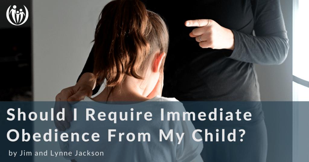 immediate obedience